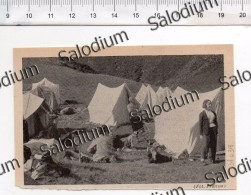 Camping Campeggio - Immagine Ritagliata Da Pubblicazione Originale D´epoca - Immagine Tagliata