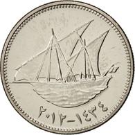 Kuwait, 20 Fils, 2012, SUP, Copper-nickel - Koweït