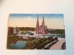 STRASSBURG I. Els. Ev. Garnisonskirche - 1916 Occupation Allemande - Strasbourg