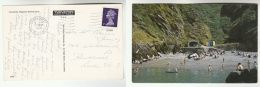 1968 Postcard ILFRACOMBE, Rapparee Bathing Cove, GB Stamps Cover - Ilfracombe
