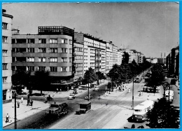 CPSM AK Pologne Polska Poland WARSZAWA Varsovie - Ulica Putawska (Pulawska) - Polonia