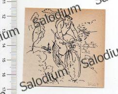Bici Velo - Immagine Ritagliata Da Pubblicazione Originale D´epoca - Immagine Tagliata