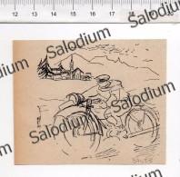 Moto - Immagine Ritagliata Da Pubblicazione Originale D´epoca - Immagine Tagliata