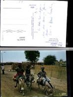 304405,Senegal Depart Pour Le Marche Auf Zum Markt Volkstypen Esel Packesel - Ansichtskarten