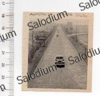 Autostrada Milano Torino Auto Car   - Immagine Ritagliata Da Pubblicazione Originale D´epoca - Immagine Tagliata