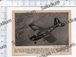 Aereo Airplane Aermacchi B 308  - Immagine Ritagliata Da Pubblicazione Originale D´epoca - Immagine Tagliata