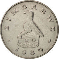 Zimbabwe, 20 Cents, 1980, TTB+, Copper-nickel, KM:4 - Zimbabwe