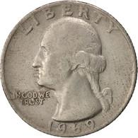 États-Unis, Washington Quarter, Quarter, 1969, U.S. Mint, Philadelphia, TB+ - Federal Issues