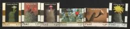 B)2001 PERU,  FAUNA, FLOWERS,   CACTIS, SET OF 6, SC 291-1296 A603, SOUVENIR SHEETS, MNH - Peru