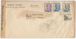SPAGNA - ESPAÑA - Spain - Espagne - 1941 - Par Avion - 1 + 70 + 20 + 5 - Opened Passed By Censor - Censurado Censura ... - 1931-50 Storia Postale