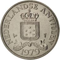Netherlands Antilles, Beatrix, 25 Cents, 1979, SPL, Nickel, KM:11 - Netherland Antilles