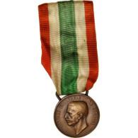 Italie, Unita D'Italia, Medal, 1848-1918, Très Bon état, Bronze, 38 - Army & War