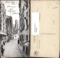 319896,Künstler Ak Briefträger Straßenansicht Postwesen Post - Post & Briefboten