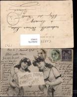 319925,Ansichtskarten Geschichte Frauen Postkarte La Carte Postale Postwesen Pub A. B - Post & Briefboten