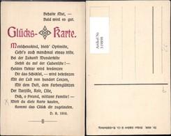 319898,Glückskarte Text Postwesen Post Pub Arthur Schürer Co 4506 - Post & Briefboten