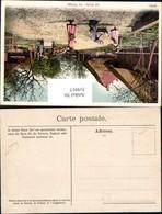 319917,Ansichtskarten Geschichte Schreibraum Zulässig Schweiz England Frankreich Post - Post & Briefboten