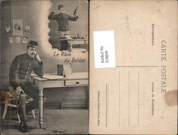319899,Soldat M. Ansichtskarten Le Reve Du Soldat Postwesen Post - Post & Briefboten