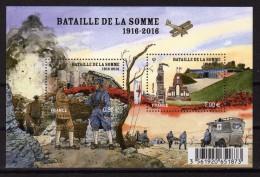 FRANCE 2016 - Centenaire 1ere Guerre Mondial, Bataille De La Somme - BF Neufs // Mnh - Prima Guerra Mondiale