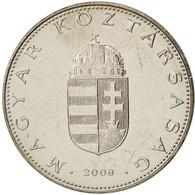 Hongrie, 10 Forint, 2008, SPL, Copper-nickel, KM:695 - Hongrie