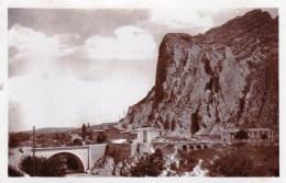 04 - Sisteron  - Faubourg Et Pont De La Beaume ( Carte Glacée ) - Sisteron