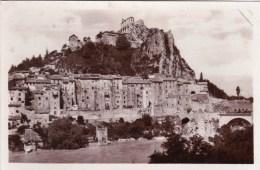 04 - Sisteron - La Durance  ( Carte Glacée ) - Sisteron