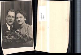 323353,Foto AK Hochzeit Hochzeitsfoto Brautpaar Brautstrauß - Hochzeiten
