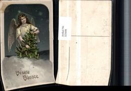 323698,Künstler Litho Weihnachten Engel Weihnachtsbaum - Engel