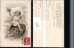 323716,Künstler AK Engel Korb Blumen Rosen Schleife - Engel