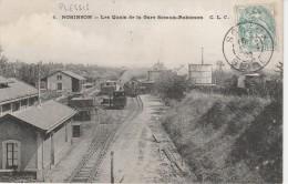 92 - LE PLESSIS ROBINSON - Les Quais De La Gare Sceaux Robinson - Le Plessis Robinson