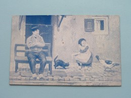 Serie 40 W. De Haan Utrecht - Dorpzicht Hollands ( Morks En Geuze) Anno 1907 ( Zie Foto Voor Details ) !! - Zonder Classificatie