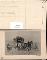329569,Künstler Ak Robert Schleich Im Omnibus V. Tölz Postkutsche Postwesen Pub Acker - Post & Briefboten
