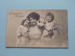 Joyeuses Paques ( 3252/6 ) Anno 1912 ( Zie Foto Voor Details ) !! - Ostern