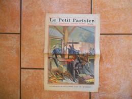 """LE PETIT PARISIEN N°1115 DIMANCHE 19 JUIN 1910  UN RELIEUR SE GUILLOTINE AVEC UN """"MASTICOT"""" - Zeitungen"""