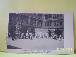 PARIS (3°ARRONDISSEMENT) ECOLE CENTRALE. CHAHUT CUBE 1906. GARE DE LA MICHAUDIERE. 4°CLASSE. - Paris (03)