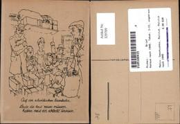 329709,Künstler Ak Auf D. Schwäbischen Eisenbahn Konsum Nach 1945 Tabak Geschichte Po - Geschichte