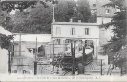 LUCHON - 31 -  Intérieur De La Gare Du Chemin De Fer De Superbagnères - INTROUVABLE Sur Le Site - ENCH0616 - - Luchon