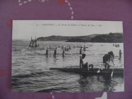 29 Carantec  Plage Lelenn Gros Plan Canoe - Carantec