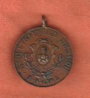 Old Pendant Medal - Athletklubben Hermod - 1893 - Jetons & Médailles