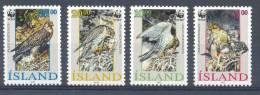 Naa136s WWF FAUNA ROOFVOGELS GIERVALK  BIRDS OF PREY FALCON GREIFVÖGEL AVES OISEAUX ISLAND 1992 PF/MNH - W.W.F.