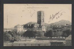 DF / 34  HERAULT / LODÈVE / LA CATHÉDRALE ET L'ANCIEN ÉVÊCHÉ / CIRCULÉE EN 1904 - Lodeve