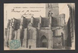 DF / 34  HERAULT / LODÈVE / LA CATHÉDRALE SAINT-FULCRAN / CIRCULÉE EN 1905 - Lodeve