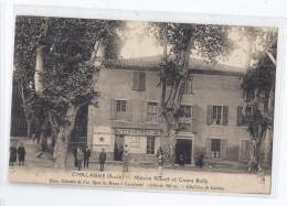 CPA 11 - CHALABRE - Maison Albert Et Cours Sully - MAGASIN ETOILE DU MIDI - Très Jolie ANIMATION - Francia