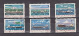 1979 - Batiments De La Marine Marchande Michel No 3613/3618 Et Yv No 3191/3196 - Usado