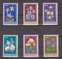 1979 -  Fleurs  Mi No 3581/3586 Et Yv No 3157/3162 - 1948-.... Repúblicas