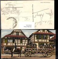336735,Kutsche Elsass Elsässer Dorffest Festwagen Tracht - Taxi & Carrozzelle