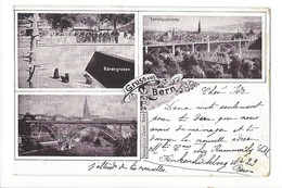 15028 - Gruss Aus Bern Bärengraben Circulée En 1900 - BE Bern