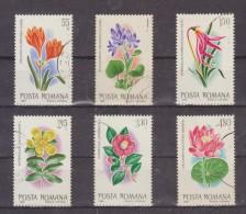 1980 - Fleurs Exotiques Du Jardin Botanique Mi No 3721/3726 Et Yv 3277/3282 - 1948-.... Repúblicas