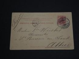 POLOGNE - Carte Postale Oblit Kattowitz Pour La France - Mars 1905 - A Voir - P20177 - Silesia (Lower And Upper)