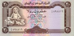 YEMEN 20 RIALS ND (1990) P-26a UNC [YE115a] - Yemen
