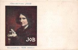 """¤¤  -  Illustrateur """" DUVOCELLE """"  Calendrier 1906  -  Collection """" JOB """"  -  Femme , Art Nouveau -   -  ¤¤ - Illustrateurs & Photographes"""